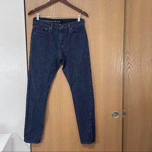 LEVIS Commuter Pro Cordura Dark Wash Slim Jeans